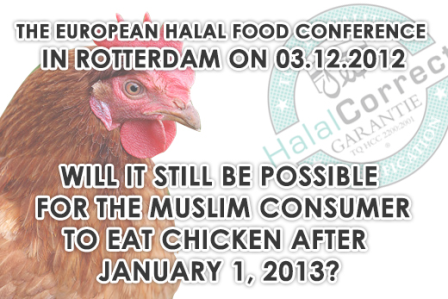 IS CHICKEN IN 2013 STILL HALAL?
